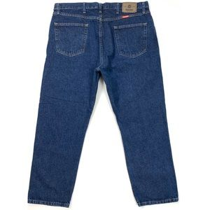 Men's Wrangler Regular Fit Jeans (40Wx29L)